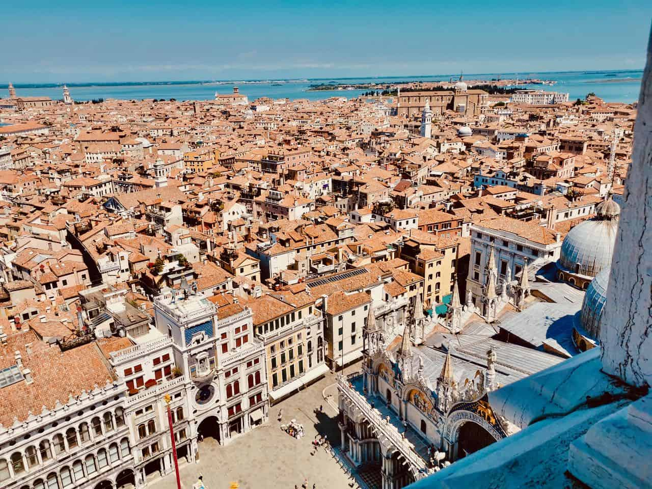 Views of Venice in Italy