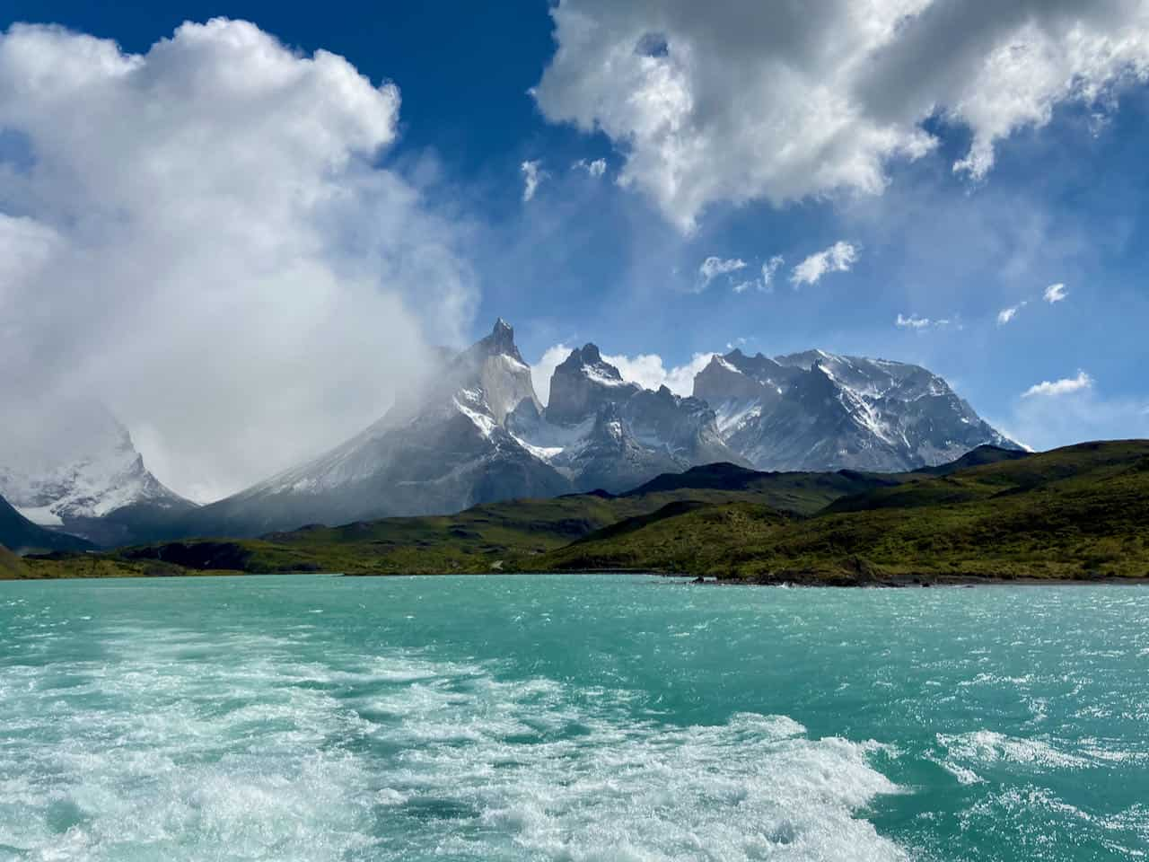 Patagonia itinerary - Pehoe Lake, Torres del Paine, Chile