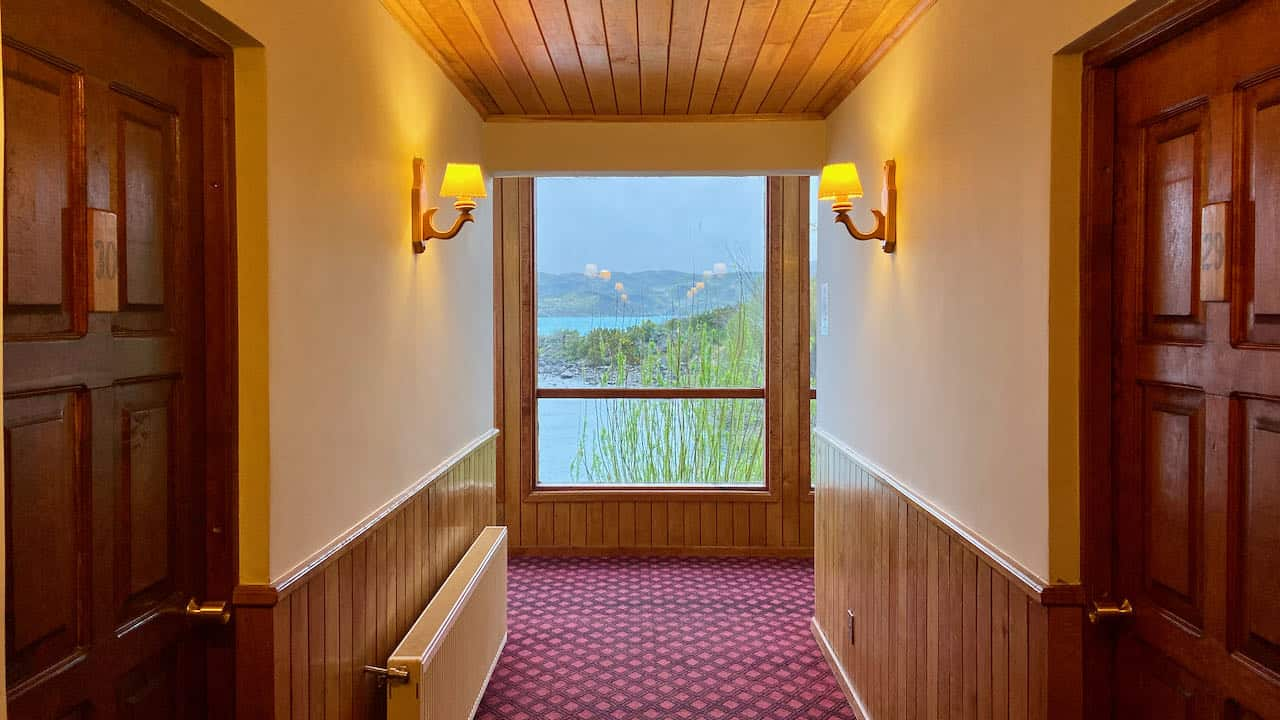 Patagonia itinerary - hotel in Torres del Paine