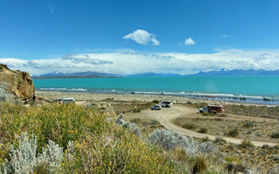 On the road, what to visit between El Calafate and El Chaltén