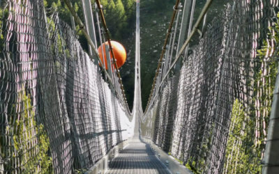 Check out the world's (third) longest suspension bridge in the Swiss Alps